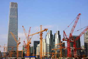 Image of real estate development in China