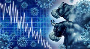 Bull and bear watch market plunge due to coronavirus