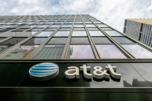Image of an AT&T company building