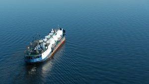 Image of a tanker ship